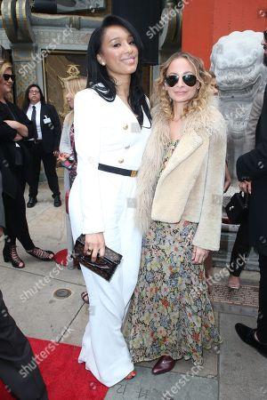 Lisa Parigi and Nicole Richie