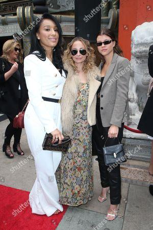 Lisa Parigi, Nicole Richie and Sofia Richie
