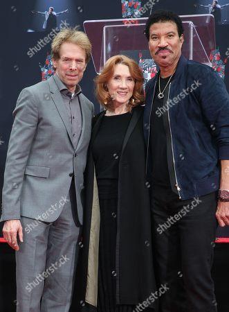 Jerry Bruckheimer, Linda Bruckheimer and Lionel Richie