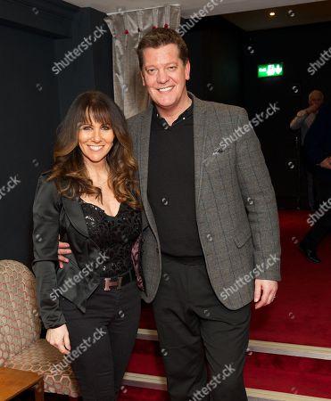 Linda Lusardi and Sam Kane