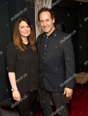 Steve Hewlett and wife Nina
