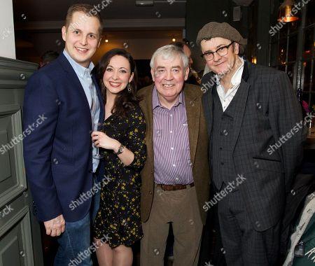 Guy Unsworth, Sarah Earnshaw, Raymond Allen and Joe Pasquale