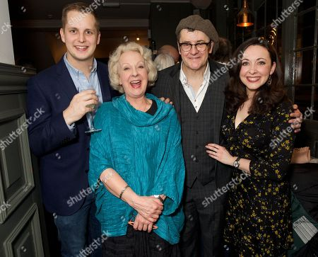 Editorial image of 'Some Mothers Do 'Ave' Em' press night, Richmond Theatre, London, UK - 07 Mar 2018
