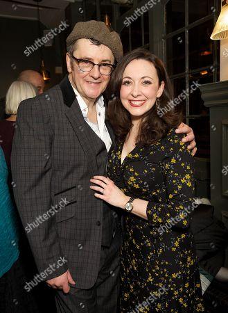 Stock Photo of Joe Pasquale and Sarah Earnshaw