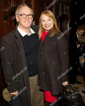 Stock Picture of Peter Davison and Elizabeth Morton