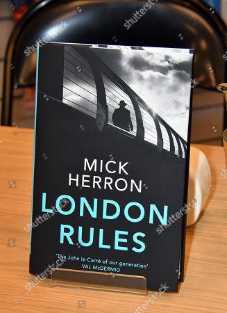 Mick Herron's book London Rules