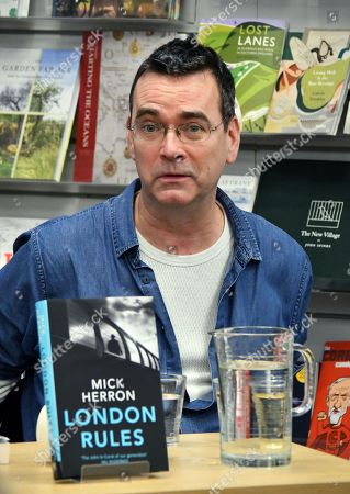 Stock Photo of Mick Herron