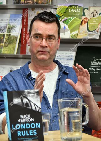 Editorial picture of Mick Herron 'London Rules' book event, London, UK - 07 Mar 2018