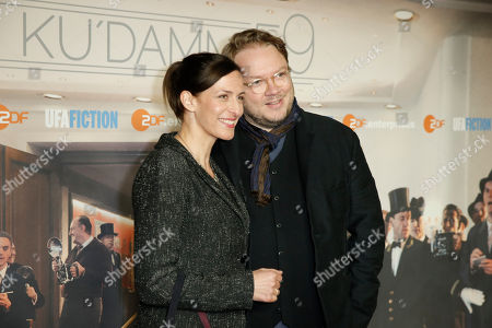 Stock Photo of Ulrike Frank and Mann Marc Schubring