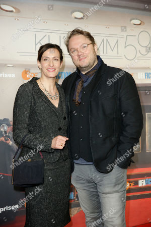 Stock Image of Ulrike Frank and Mann Marc Schubring