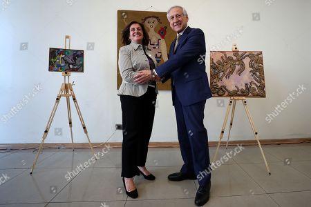 Cecilia Garcia Huidobro and Heraldo Munoz