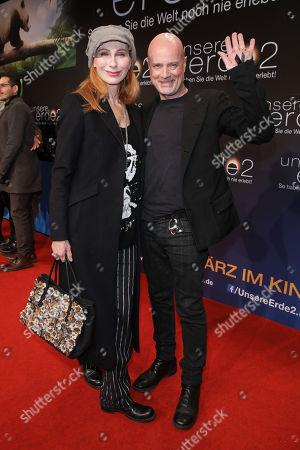 Christian Berkel mit Ehefrau Andrea Sawatzki