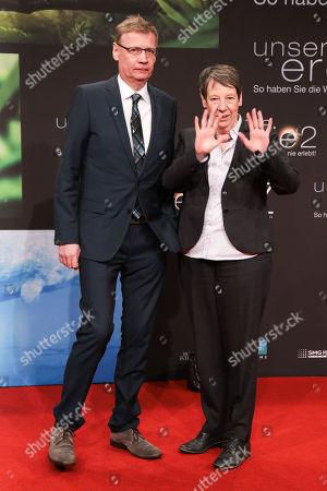 Guenther Jauch and Barbara Hendricks