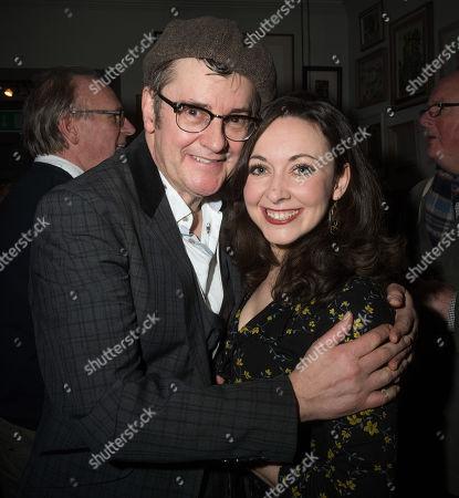 Joe Pasquale and Sarah Earnshaw