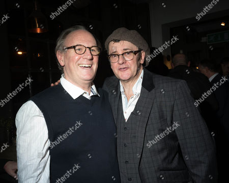 Peter Davison and Joe Pasquale