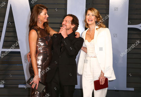 Stock Picture of Jill McCormick, Eddie Vedder and Laura Dern