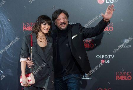 Cecilia Gessa and Carlos Bardem