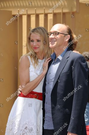 Editorial photo of Cameron Diaz Honored With A Star On The Hollywood Walk Of Fame