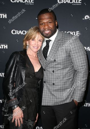 Stock Photo of 50 Cent, Linda Purl