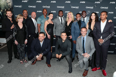 Editorial picture of Crackle Original Series 'The Oath' World Premiere at Sony Pictures Studios, Culver City, Los Angeles, CA, USA - 7 Mar 2018