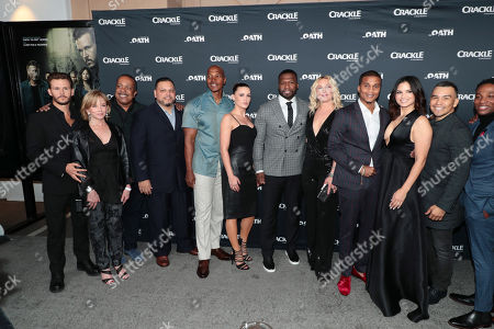 Editorial photo of Crackle Original Series 'The Oath' World Premiere at Sony Pictures Studios, Culver City, Los Angeles, CA, USA - 7 Mar 2018