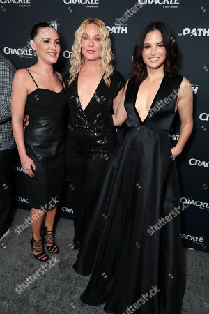 Editorial image of Crackle Original Series 'The Oath' World Premiere at Sony Pictures Studios, Culver City, Los Angeles, CA, USA - 7 Mar 2018