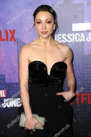 Editorial photo of Marvel's 'Jessica Jones' season 2 TV show premiere, Arrivals, New York, USA - 07 Mar 2018
