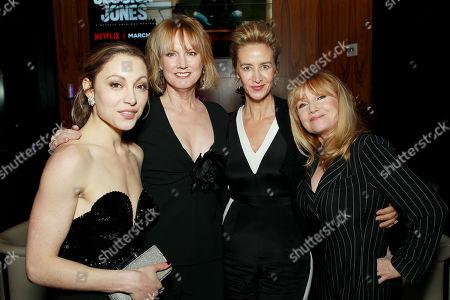 Leah Gibson, Melissa Rosenberg (Showrunner, Exec. Producer), Janet McTeer, Rebecca De Mornay