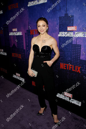 Editorial picture of Netflix Original Series Marvel's Jessica Jones Season 2, NY Premiere Screening and Afterparty, New York, USA - 07 Mar 2018