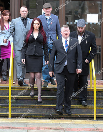 Editorial image of Britain First leaders hate crime trial, Folkstone, Kent, UK - 07 Mar 2018