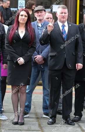 Editorial photo of Britain First leaders hate crime trial, Folkstone, Kent, UK - 07 Mar 2018