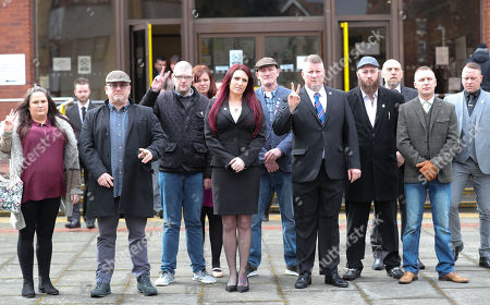 Editorial picture of Britain First leaders hate crime trial, Folkstone, Kent, UK - 07 Mar 2018