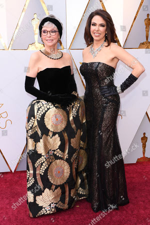 Rita Moreno and Fernanda Luisa Gordon
