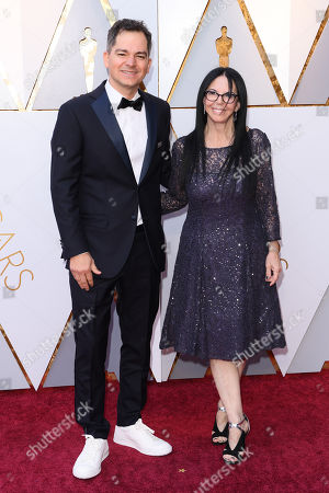 Carlos Saldanha and Lori Forte