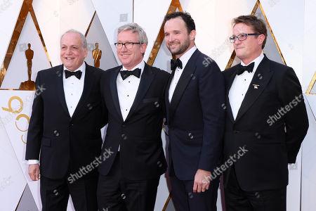 Stock Image of Joe Letteri, Daniel Barrett, Dan Lemmon and Joel Whist