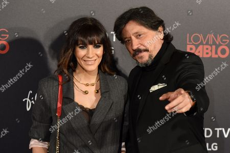 Carlos Bardem (right), and Cecilia Gessa