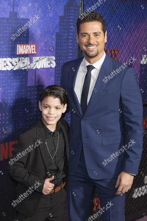 Editorial picture of Marvel's 'Jessica Jones' season 2 TV show premiere, Arrivals, New York, USA - 07 Mar 2018