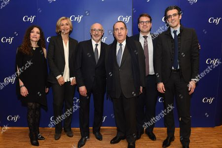 Editorial picture of CRIF annual dinner, Paris, France - 07 Mar 2018