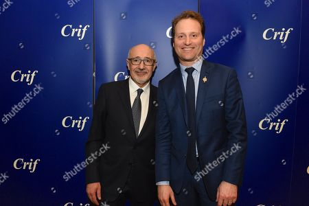 Editorial image of CRIF annual dinner, Paris, France - 07 Mar 2018