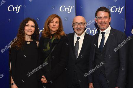 Francis Kalifat, Manuel Valls, Anne Gravoin