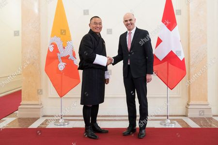 Alain Berset and Tshering Tobgay