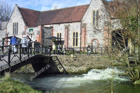The Mill public house in the Cathedral City of Salisbury, Wiltshire, southern England, 08 March 2018, where ex Russian spy Sergei Skripal aged 66 and his daughter Yulia aged 33 had a drink before they were found in a bench suffering from extreme exposure to a rare nerve agent on 04 March 2018. The London Metropolitan Police Service (MPS) reported on 07 March 2018 that Detectives investigating how former Russian spy Sergei and Yulia Skripal became seriously ill in Salisbury southern England on 04 March 2018 continue to work with specialist health experts. Police are now in a position to confirm that their symptoms are a result of exposure to a nerve agent. Scientific tests by Government experts have identified the specific nerve agent used which will help identify the source but at this stage in a fast-paced ongoing investigation we will not comment further. Assistant Commissioner Mark Rowley, the head of Counter Terrorism Policing, said: 'Having established that they were exposed to a nerve agent we are now treating this as a major incident involving an attempted murder by the administration of a nerve agent.'