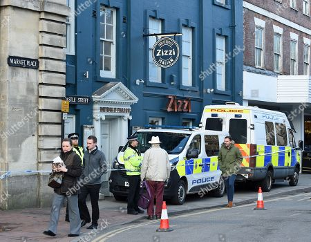 The Italian restaurant Zizzi in the Cathedral City of Salisbury, Wiltshire, southern England, 08 March 2018, where ex Russian spy Sergei Skripal aged 66 and his daughter Yulia aged 33 had a meal before they were found in a bench suffering from extreme exposure to a rare nerve agent on 04 March 2018. The London Metropolitan Police Service (MPS) reported on 07 March 2018 that Detectives investigating how former Russian spy Sergei and Yulia Skripal became seriously ill in Salisbury southern England on 04 March 2018 continue to work with specialist health experts. Police are now in a position to confirm that their symptoms are a result of exposure to a nerve agent. Scientific tests by Government experts have identified the specific nerve agent used which will help identify the source but at this stage in a fast-paced ongoing investigation we will not comment further. Assistant Commissioner Mark Rowley, the head of Counter Terrorism Policing, said: 'Having established that they were exposed to a nerve agent we are now treating this as a major incident involving an attempted murder by the administration of a nerve agent.'