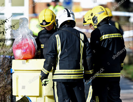 Editorial photo of Investigation into possible poisoning of former Russsian spy, Salisbury, United Kingdom - 08 Mar 2018