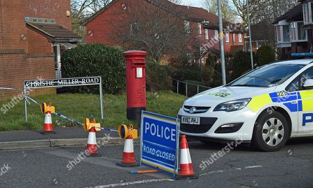 Editorial picture of Investigation into possible poisoning of former Russsian spy, Salisbury, United Kingdom - 08 Mar 2018