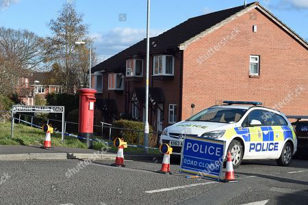 A police vehicles is seen on a road in Salisbury, Wiltshire, southern England, 08 March 2018, where ex Russian spy Sergei Skripal aged 66 and his daughter Yulia aged 33 lived before they were found in a bench suffering from extreme exposure to a rare nerve agent on 04 March 2018. The London Metropolitan Police Service (MPS) reported on 07 March 2018 that Detectives investigating how former Russian spy Sergei aged 66 and Yulia Skripal became seriously ill in Salisbury southern England on 04 March 2018 continue to work with specialist health experts. Police are now in a position to confirm that their symptoms are a result of exposure to a nerve agent. Scientific tests by Government experts have identified the specific nerve agent used which will help identify the source but at this stage in a fast-paced ongoing investigation we will not comment further. Assistant Commissioner Mark Rowley, the head of Counter Terrorism Policing, said: 'Having established that they were exposed to a nerve agent we are now treating this as a major incident involving an attempted murder by the administration of a nerve agent.'  Also the police officer who was left seriously ill after being exposed to the same nerve agent attack on a former Russian spy and his daughter was named on 08 March as seargent Nick Bailey.