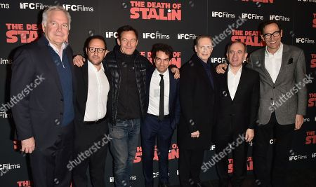 Jonathan Sehring, Laurent Zeitoun, Jason Isaacs, Yann Zenou, Steve Buscemi, Armando Iannucci and John Sapan
