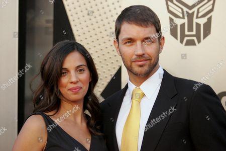 Matthew Marsden and wife