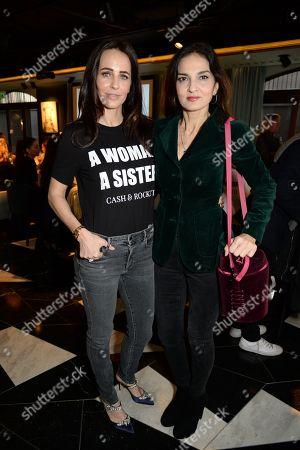 Stock Photo of Julie Brangstrup and Yasmin Mills