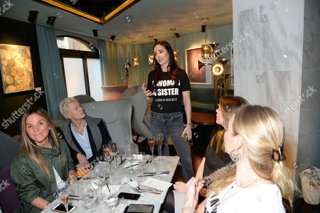Editorial image of Cash and Rocket Tour, 12 Hay Hill Members Club, Mayfair, London, UK - 08 Mar 2018